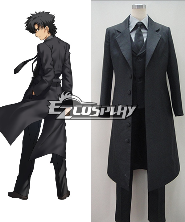 Fate Zero Kiritsugu Emiya New Version Cosplay Costume