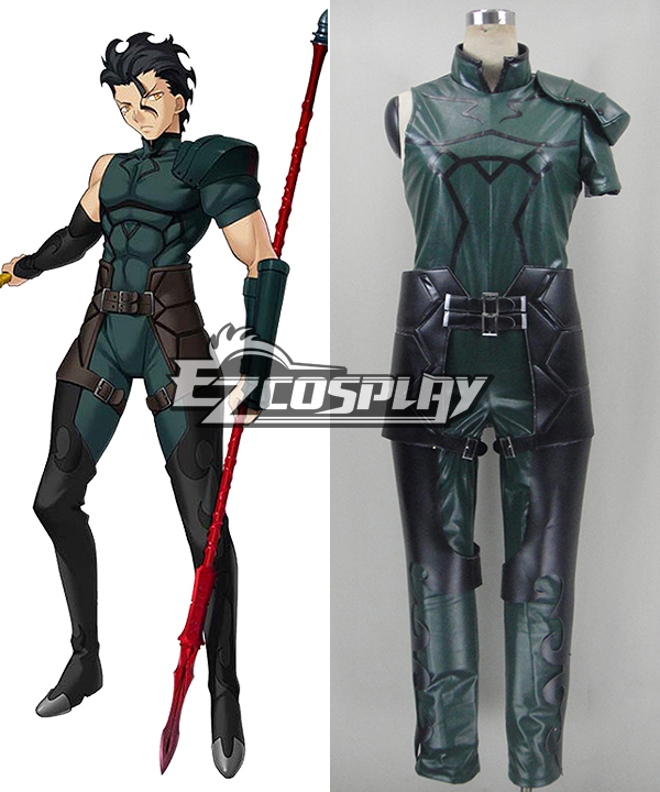 Fate Zero Servant Lancer Cosplay Costume