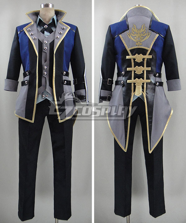 God Eater 2 Protagonist Male Cosplay Costume