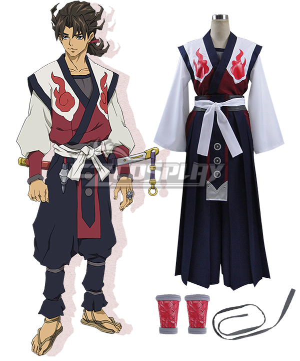 Garo Guren no Tsuki Raikou Cosplay Costume