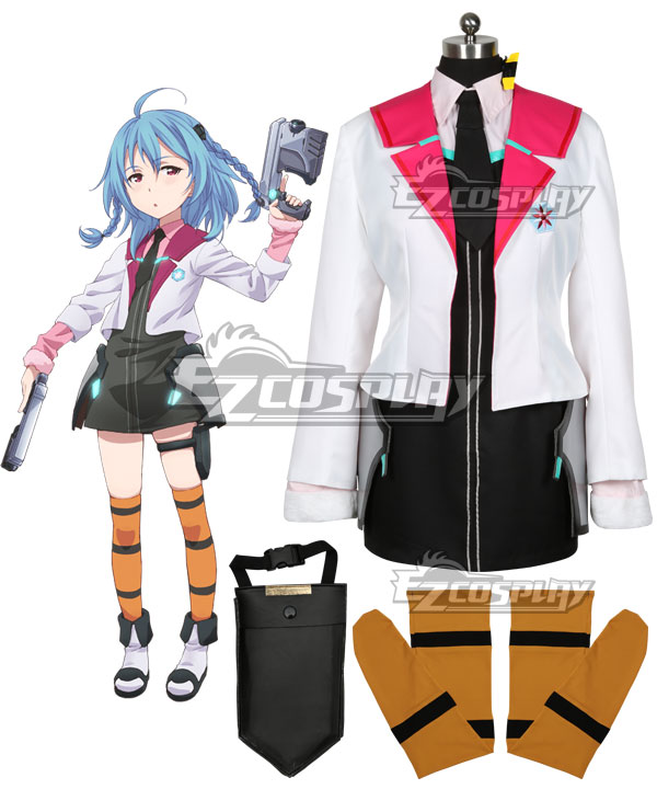 Gakusen Toshi Asterisk Academy Battle City Asterisk The Asterisk War The Academy City of the Water Saya Sasamiya Cosplay Costume
