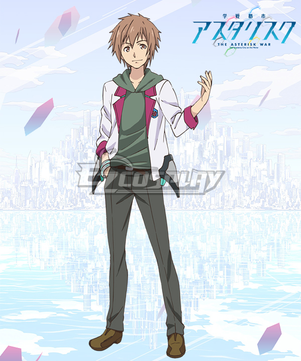 Gakusen Toshi Asterisk Academy Battle City Asterisk The Asterisk War The Academy City of the Water Eishiro Yabuki Cosplay Costume