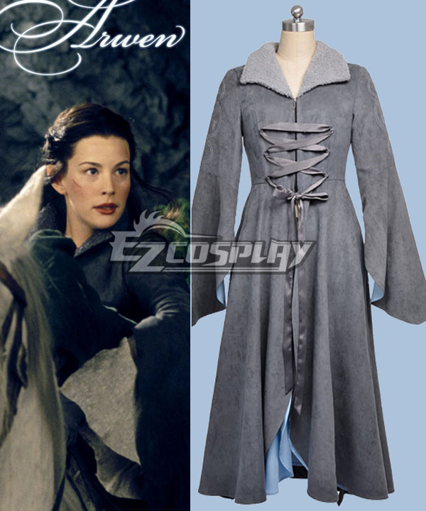 Hobbit Lord of the Rings Arwen Cosplay Costume