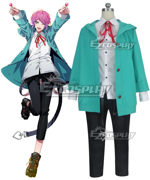 Hypnosis Mic Division Rap Battle Ramuda Amemura Easy R Black Shoes Cosplay New