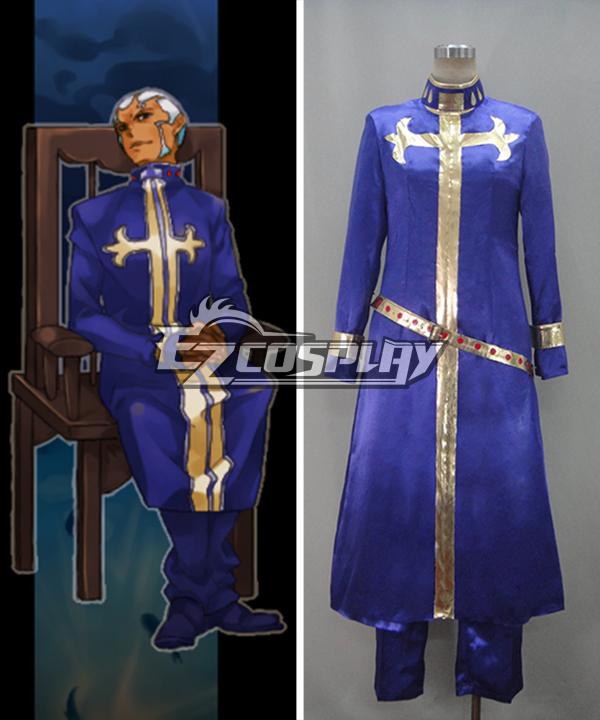 JoJo's Bizarre Adventure Enrico Pucci Cosplay Costume