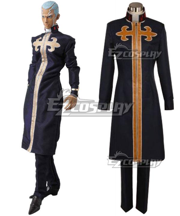 JoJo's Bizarre Adventure Enrico Pucci Black Cosplay Costume