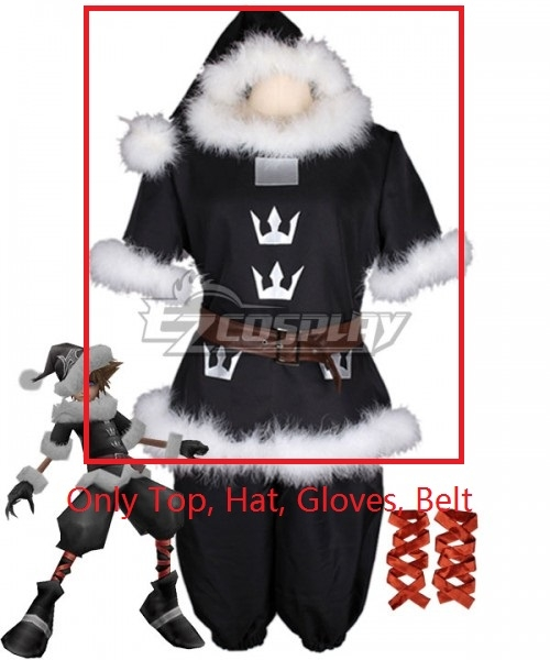 Christmas | Costume | Santa | Glove | Heart | Shirt | Belt | Hat | Top