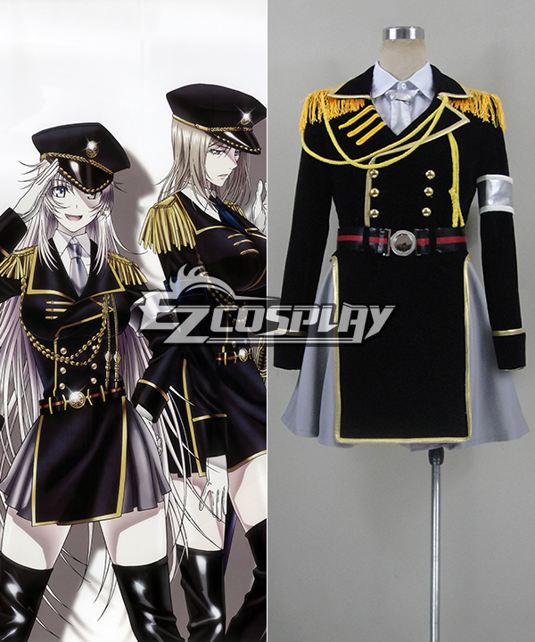 K Project Neko Spoon Military Uniform Cosplay Costume