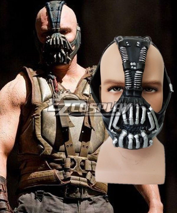 DC Comics The Dark Knight Rises Bane Dorrance Mask Cosplay Prop Helmet