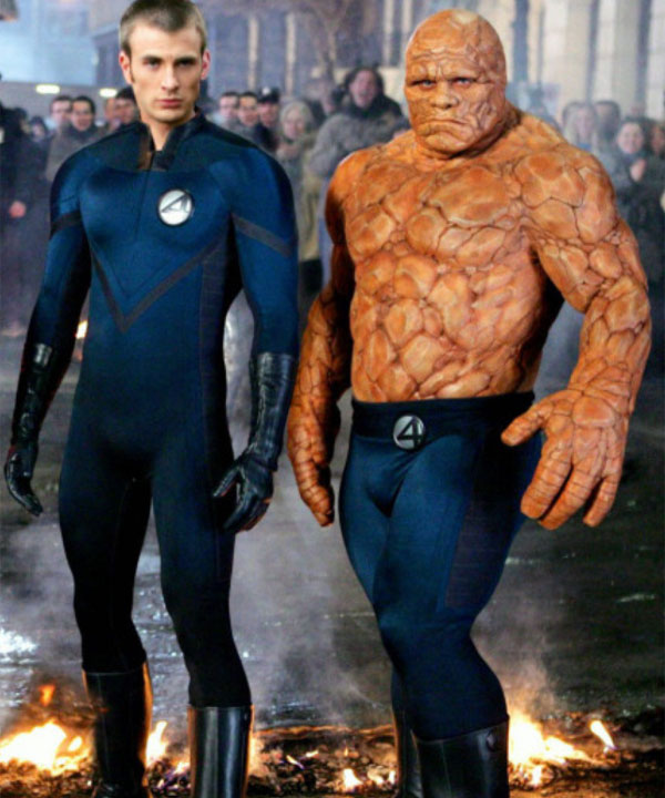 Marvel Fantastic Four The Thing Cosplay Pants