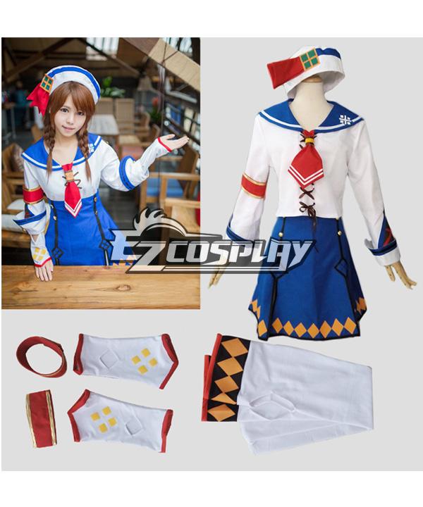 Monster Hunter 3G Female Cashier Cosplay Costume
