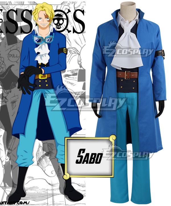 One Piece Sabo Cosplay Costume - B Edition