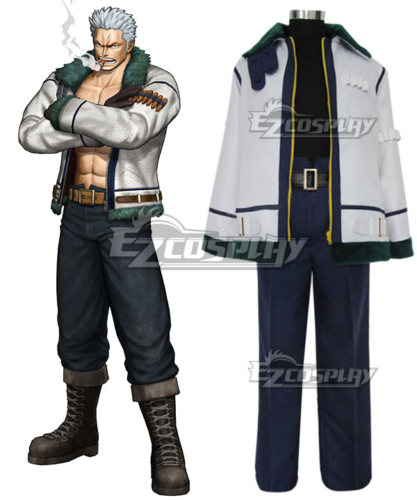 One Piece Smoker Cosplay Costume