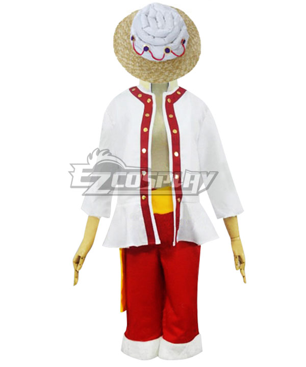 One Piece Monkey D Luffy Cosplay Costume - A Edition