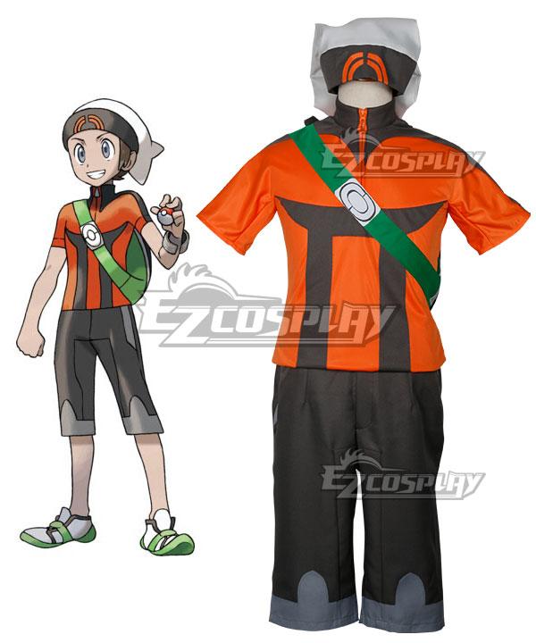 Pokemon Pocket Monster: ORAS Brendan Cosplay Costume