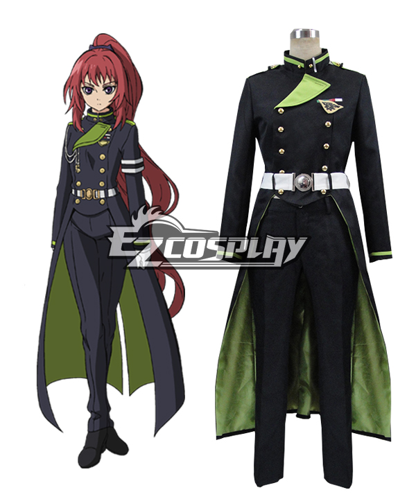 Seraph of the End Vampire Reign Owari no Serafu Mito Jujo Cosplay Costume
