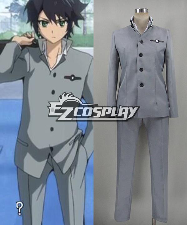 Seraph of the End Owari no Serafu Hyakuya Yuichiro Yuichiro Hyakuya School Uniform Cosplay Costume