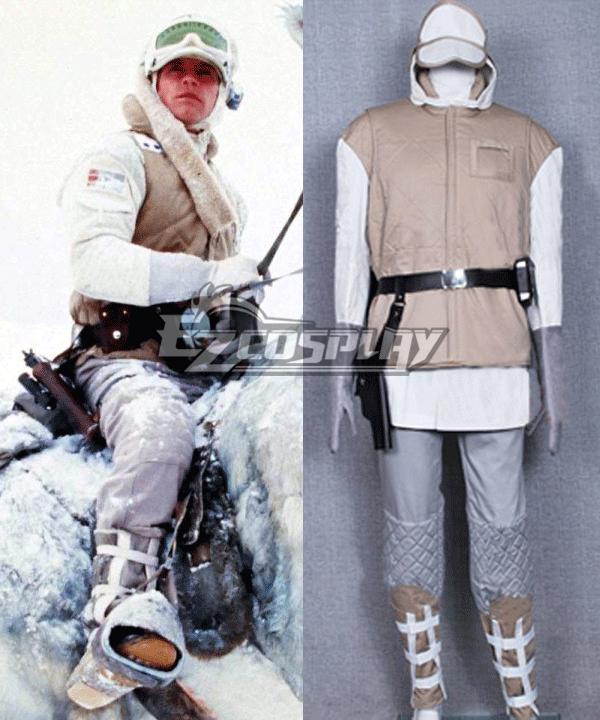 Star Wars ESB Luke Hoth Rebel Soldier Trooper Uniform Costume Cosplay Adult