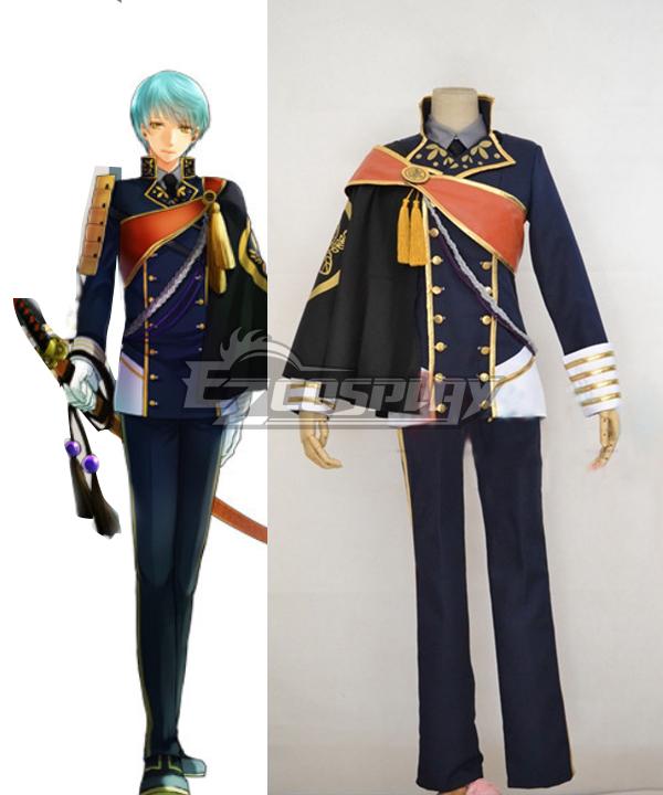 Touken Ranbu Ichigo Hitofuri Uniform Cosplay Costume Version 2