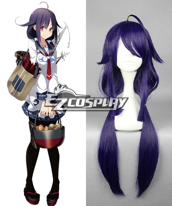 Kantai Collection Taigei Purple Cosplay Wig