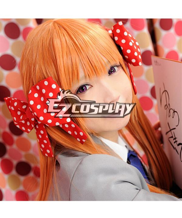 Monthly Girls' Nozaki-kun Sakura Chiyo Orange Cosplay Wig