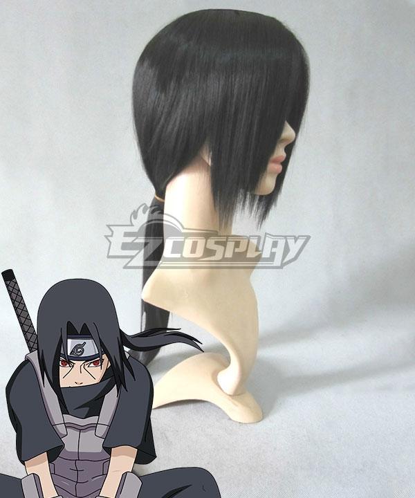 Naruto Akatsuki Itachi Uchiha Black Cosplay Wig