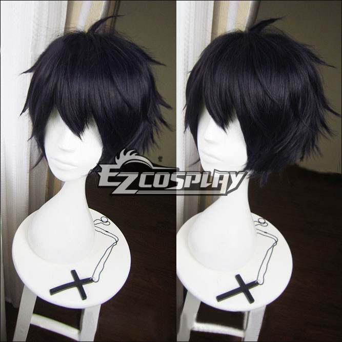 Seraph of the End Owari no Serafu Vampire Reign Yuichiro Hyakuya Yuichiro Amane Short Black Cosplay Wig 366A