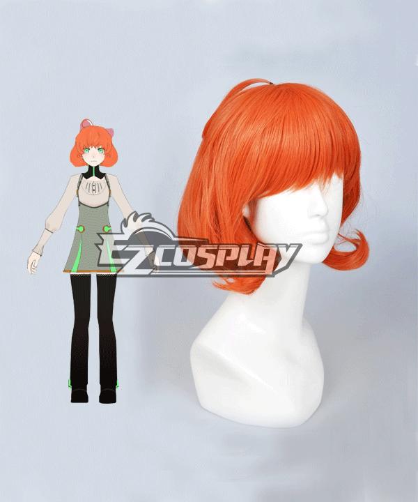 RWBY Penny Polendina Atlas Orange Hair Cosplay Wig