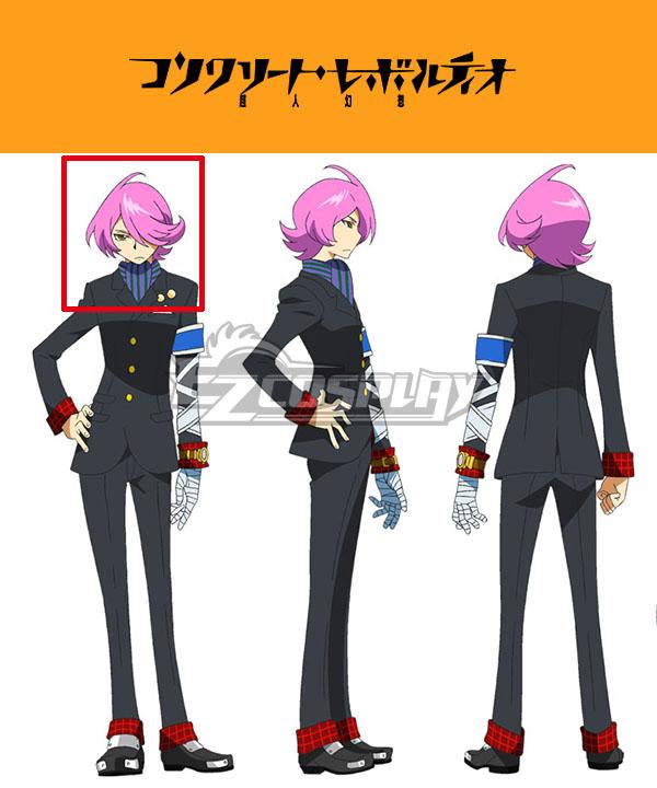 Concrete Revolutio Konkuriito Reborutio Choujin Gensou Hitoyoshi Jirou Pink Cosplay Wig