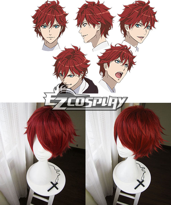 Dance with Devils  Lindo Tachibana Red Cosplay Wig