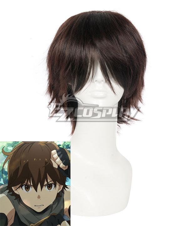 Grimgar of Fantasy and Ash Haruhiro Brown Cosplay Wig