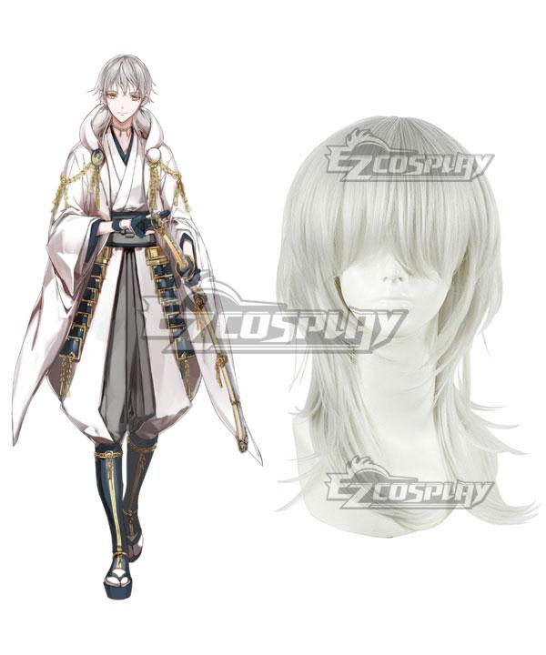 Touken Ranbu Tsurumaru Kuninaga Silver Cosplay Wig