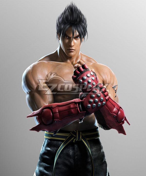 Tekken 6 Jin Kazama  Black Cosplay Wig