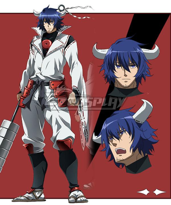 Akame Ga Kill! Susanoo Blue Cosplay Wig