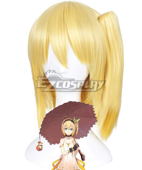 Tales of Zestiria the X Edna Golden Cosplay Wig