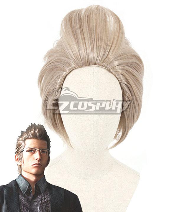 Final Fantasy XV Ignis Scientia Blonde Cosplay Wig