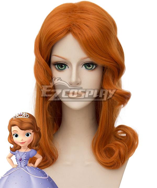 Disney Princess Sofia Sofia Light Brown Cosplay Wig
