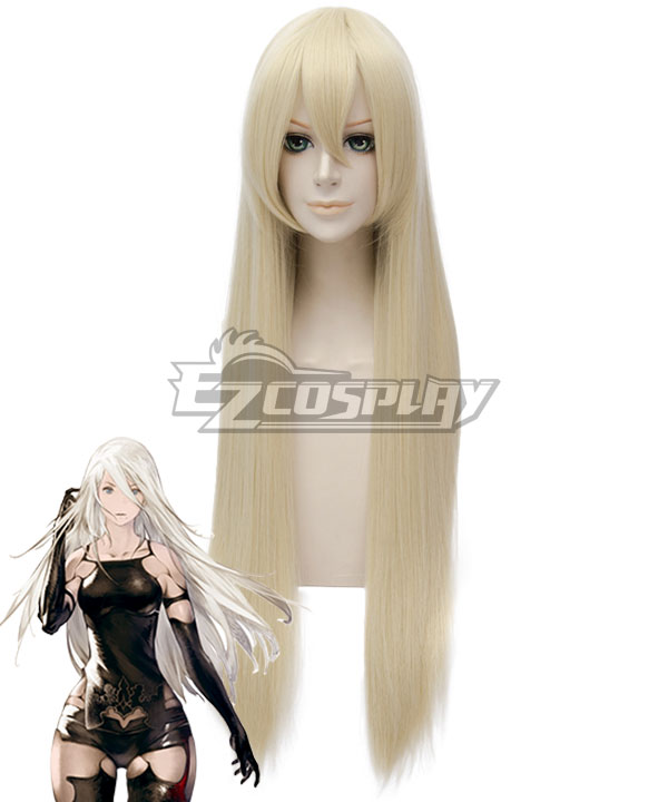 NieR: Automata YoRHa Type A No.2 A2 Light Golden Cosplay Wig