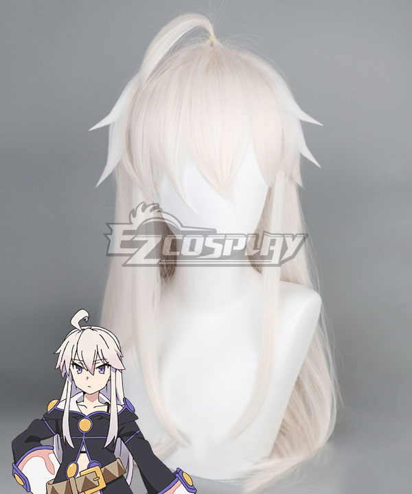 Grimoire of Zero Zero Milk Yellow Cosplay Wig