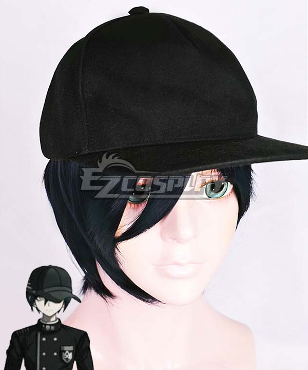 Danganronpa V3: Killing Harmony Shuichi Saihara Black Cosplay Wig - Only Wig