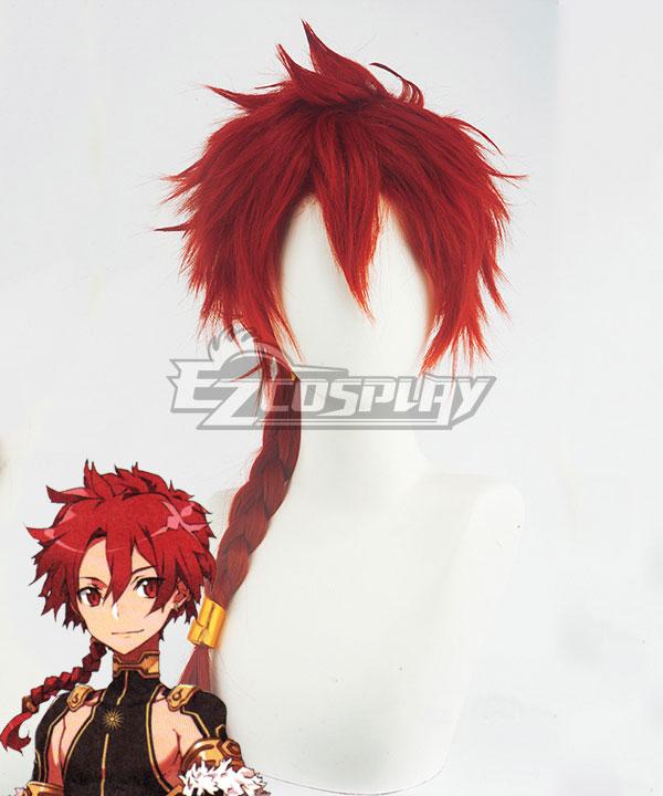 Fate Grand Order FGO Rider Iskandar Red Cosplay Wig - Wig And Headwear