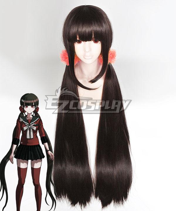 Danganronpa V3: Killing Harmony Maki Harukawa Black Cosplay Wig - Only Wig