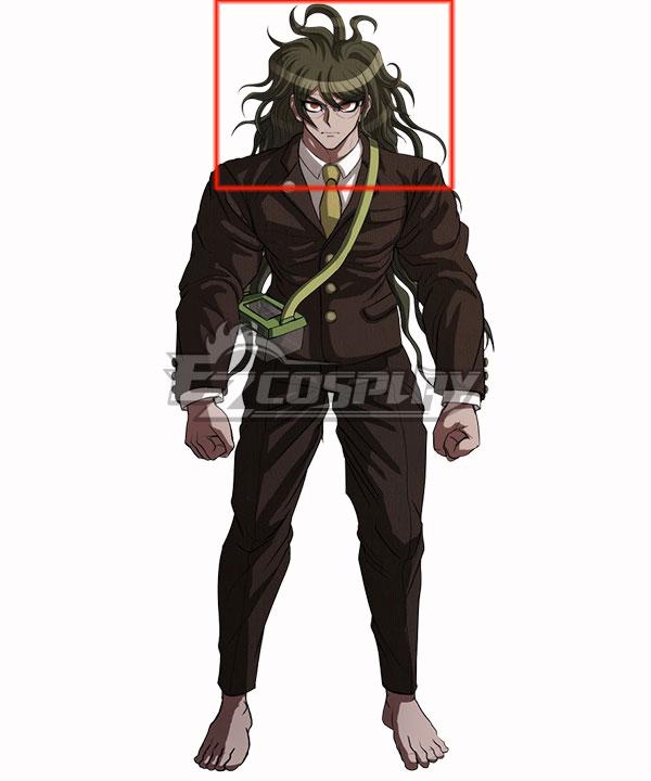 Danganronpa V3: Killing Harmony Gonta Gokuhara Multicolor Cosplay Wig
