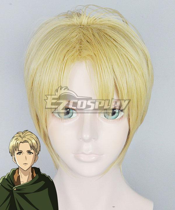 Attack on Titan Shingeki no Kyojin Nanaba Golden Cosplay Wig