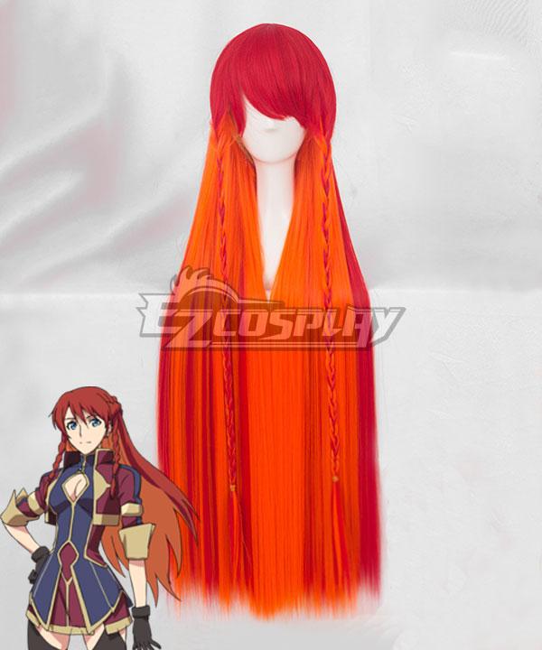 Re: Creators Selejia Yupitiria Red Orange Cosplay Wig