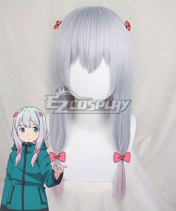 Eromanga Sensei Sagiri Izumi Silver Cosplay Wig - Including Headwear