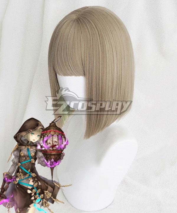 SINoALICE Gretel Breaker Graded Green Cosplay Wig