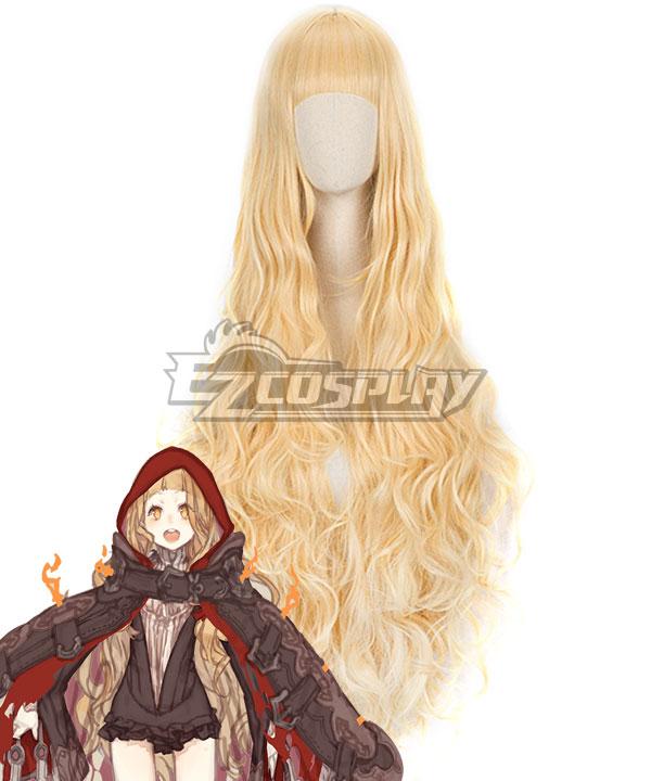 SINoALICE Little Red Riding Hood Crusher Yellow Cosplay Wig