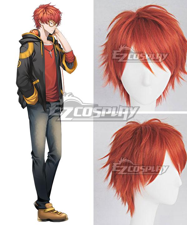 Mystic Messenger 707 Orange Cosplay Wig - A Edition