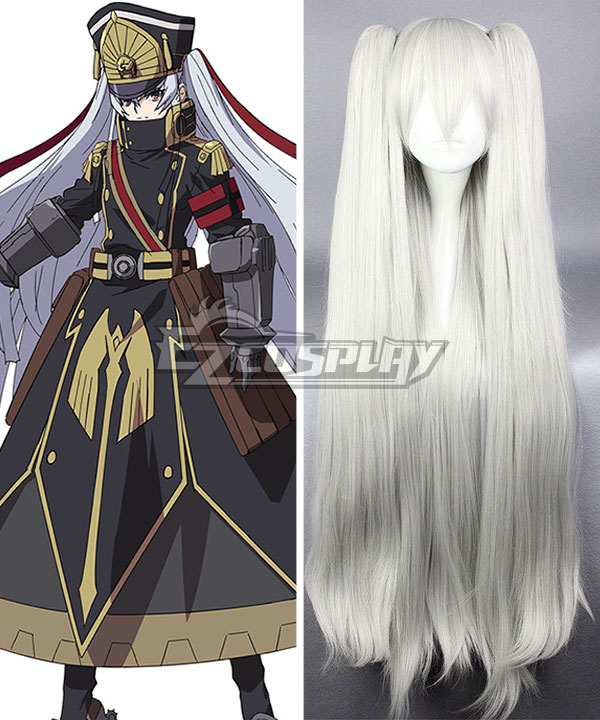Re: Creators Military Uniform Silvery white Cosplay Wig